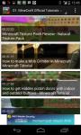 Minecraft Game Video screenshot 1/6