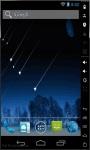 Shooting Stars Show Live Wallpaper screenshot 1/2