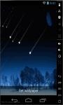 Shooting Stars Show Live Wallpaper screenshot 2/2