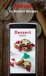Dessert recipes for free screenshot 1/5