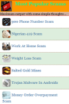 Most Popular Scams screenshot 2/3