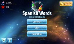 Spanish Words Learning Game screenshot 6/6