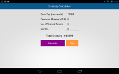 GratuityCalc screenshot 2/2