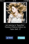 iListening2  Share the music you are listening on Facebook and Twitter screenshot 1/1