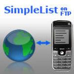 SimpleList on FTP screenshot 1/1