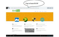 Smart RAM Booster screenshot 1/2