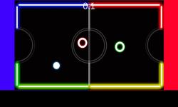 Neon Table Hockey screenshot 1/4