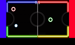 Neon Table Hockey screenshot 2/4