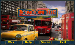 Free Hidden Objects Game - London City screenshot 1/4