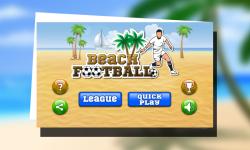 Beach Football screenshot 1/5