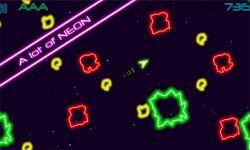 Glow Asteroids screenshot 1/4