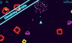 Glow Asteroids screenshot 3/4