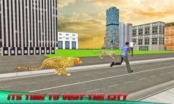 Angry Wild Cheetah: Crazy City screenshot 1/4