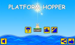 Platform Hopper - Endless Rabbit Jump Reflex Game screenshot 1/3