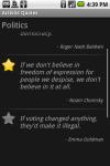 Activist Quotes screenshot 1/1