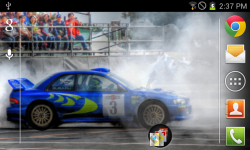 Spin Tyres WRX Live Wallpaper screenshot 1/2