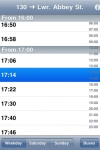 Dublin Bus Timetables screenshot 1/1