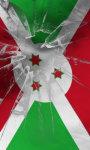 Burundi flag lwp Free screenshot 1/5