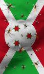 Burundi flag lwp Free screenshot 2/5