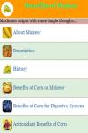 Benefits of Maizes screenshot 2/3