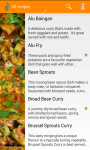 Indian Food and Curry Recipes screenshot 2/5