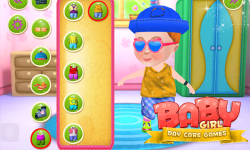 Baby Girl Day Care Games screenshot 3/6