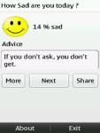 How Sad are You Today screenshot 1/3
