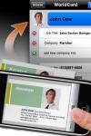 WorldCard Mobile - business card reader & business card scanner screenshot 1/1