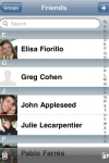 Visual Contacts screenshot 1/1