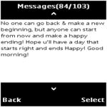 Morning SMS screenshot 2/2