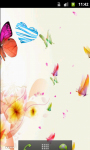 Colorful Butterfly Rose Live Wallpaper screenshot 3/5