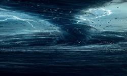 Blue Tornado Live Wallpaper screenshot 2/3