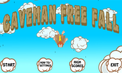 CavemanFreeFall screenshot 1/5