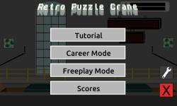Retro Puzzle Crane screenshot 3/5