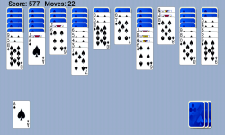 Spider Solitaire Popular Game Free screenshot 1/5