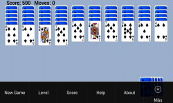 Spider Solitaire Popular Game Free screenshot 3/5