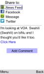 VOA Swahili for Java Phones screenshot 6/6