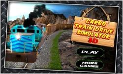 Cargo Train Drive Simulator 3D screenshot 1/5