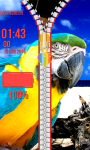Zipper Lock Screen Parrot screenshot 5/6