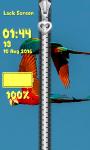 Zipper Lock Screen Parrot screenshot 6/6