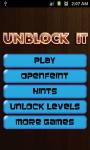 Unblock It - Free screenshot 1/3