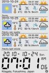 Weather & Clock Station screenshot 1/1
