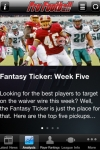 Fantasy Football Insider 2010 Lite screenshot 1/1