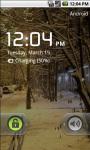 Winter Snow Street Live Wallpaper screenshot 4/4