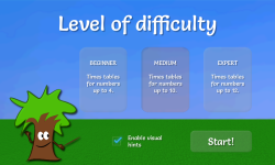 Math Game: Multiplication EVAL screenshot 3/5