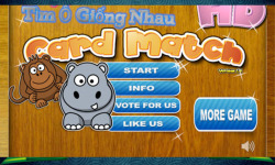 Matching Game for Kids with Animal and Toy screenshot 1/6