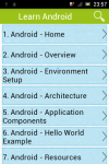 Learn Android v2 screenshot 1/3