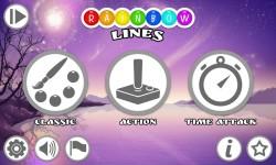 Rainbow Lines FREE screenshot 1/4