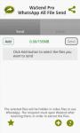 WaSend Inviare qualsiasi file plus screenshot 2/2