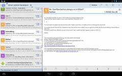 Aqua Mail Pro Key transparent screenshot 4/6